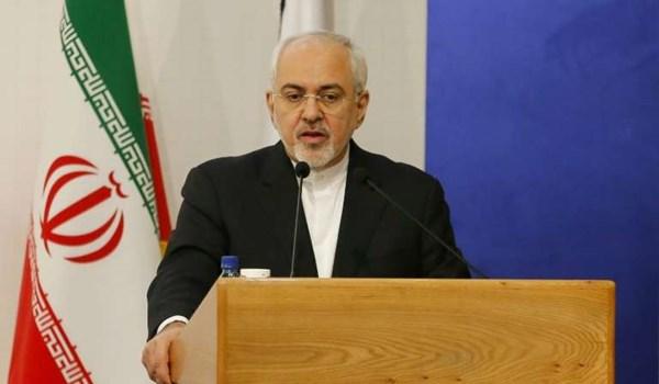 مباحثات بين ظريف ونظيره الصيني حول الاتفاق النووي وحادثة ناقلة النفط الايرانية