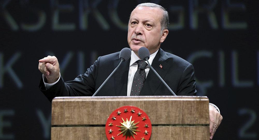 أردوغان: قضينا على 3000 عنصر إرهابي خلال عملية درع الفرات في سوريا