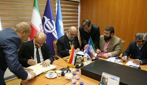 ايران والعراق يوقعان اتفاقية لتطوير النقل الجوي