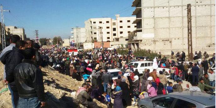 عودة أكثر من 500 عائلة مهجرة إلى منازلها جنوب غرب دمشق