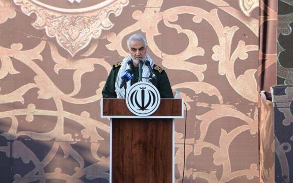 اللواء سليماني: ايران وقفت بقوة بوجه الكيان الصهيوني