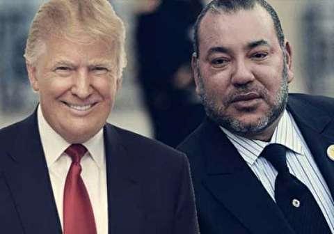 ترامب للعاهل المغربي: نشاطركم الرأي بشأن أهمية القدس لأتباع الديانات الثلاثة