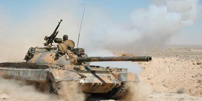 الدفاع الروسية: الجيش السوري يطبق فكي الكماشة على