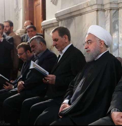 رئيس الجمهورية يشارك في مراسم تأبين ضحايا ناقلة النفط الايرانية