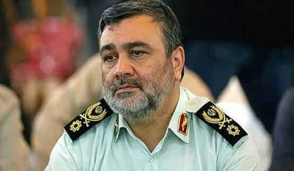 ائد الشرطة الايرانية: ارتفاع حجم ضبط المخدرات بنسبة 12 بالمائة