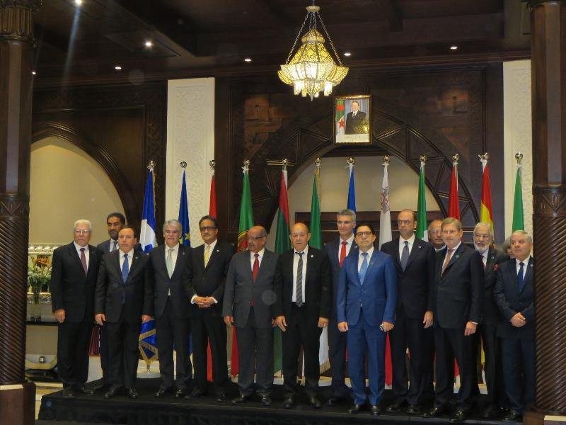 وزراء خارجية حوار 5+5 يستنكرون قرار ترامب بشأن القدس المحتلة