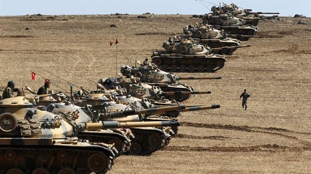 قوات تركية برية تدخل الاراضي السورية في اطار الهجوم على عفرين