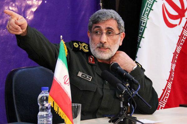 العميد قاآني: انتصار الثورة الاسلامية أوقف عدوان وتوسع الكيان الصهيوني