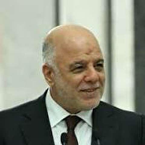 العبادي يدعو ملك الأردن للمشاركة في إعادة إعمار العراق