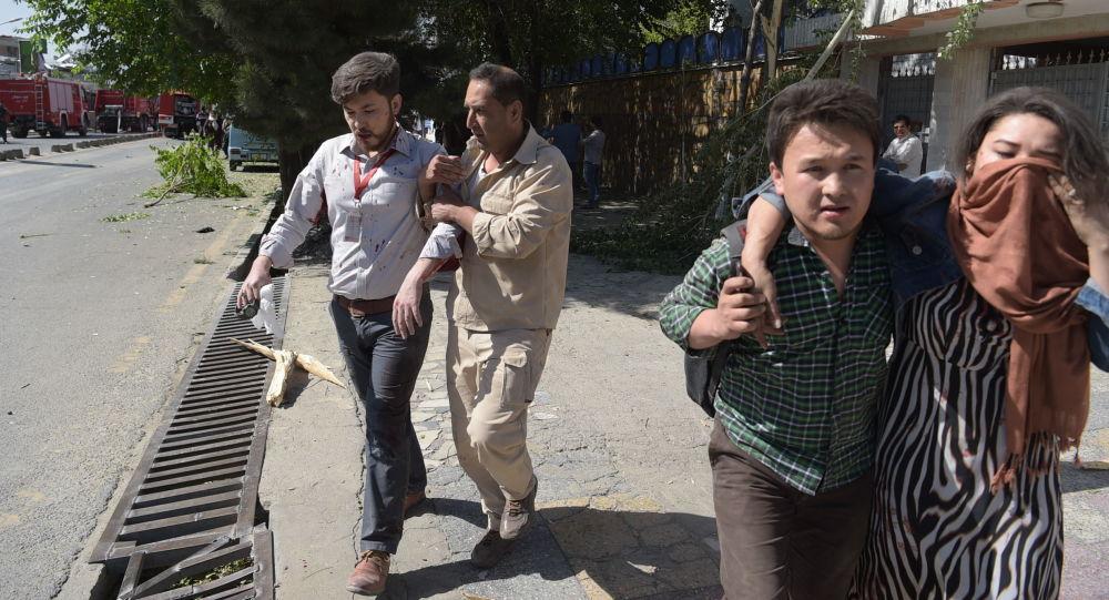 انفجار بالقرب من سفارات أجنبية بالعاصمة الأفغانية كابول