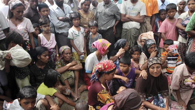 لاجئو الروهينغا في مواجهة الأمطار