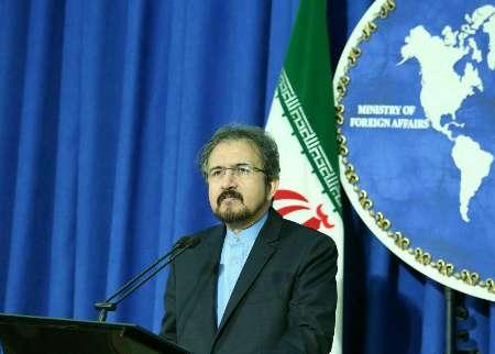 قاسمي: تصريحات ملك الاردن حول ايران تتنافى مع حقائق المنطقة