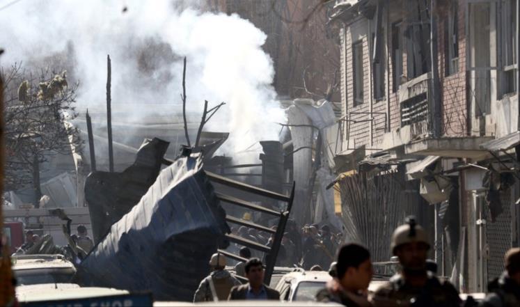 هجوم على الأكاديمية العسكرية في كابل