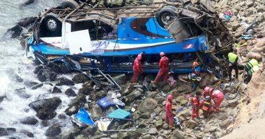 ارتفاع عدد ضحايا تصادم حافلة بشاحنة فى بيرو لـ 48 قتيلا