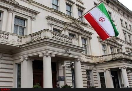 السفارة الايرانية في لندن تحتج علي اثارة الاجواء بواسطة وسائل اعلام ناطقة بالفارسية في بريطانيا