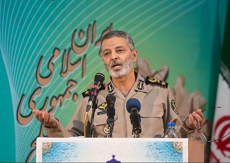 قائد قوات الجيش: لا نهاية للعداء الامريكي المتأصل ضد الشعب الايراني