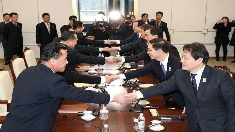 انطلاق المباحثات الكورية الكورية رفيعة المستوى