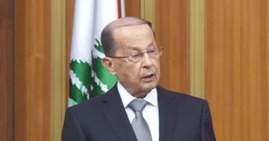 عون: المطالبة بعودة النازحين السوريين لبلادهم ضرورة لوضع حد لمعاناتهم