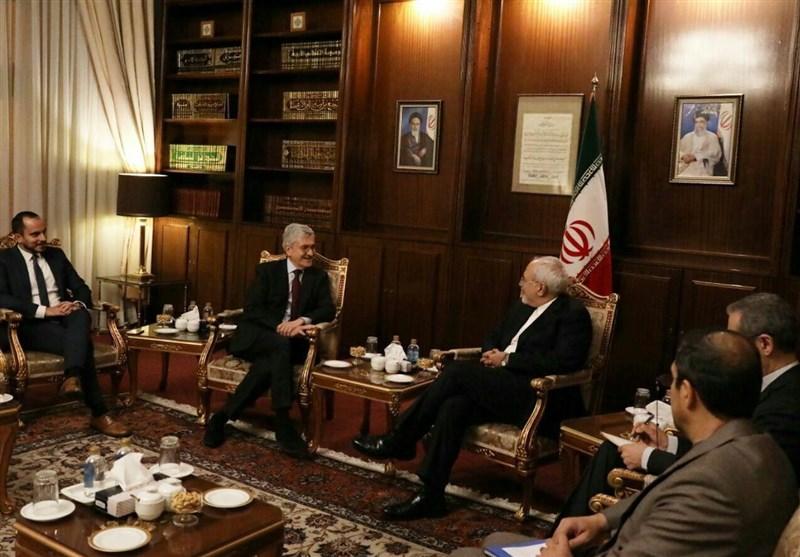 ظريف يؤكّد على ضرورة دعم الاتحاد الأوروبي العملي للاتفاق النووي