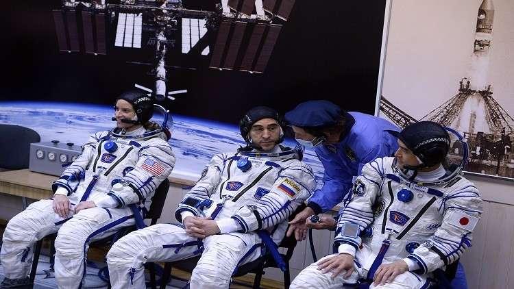 رائد الفضاء الياباني ازداد طولا 9 سم في الفضاء