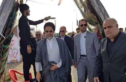وزير الامن يتفقد معبر شلمجه الحدودي
