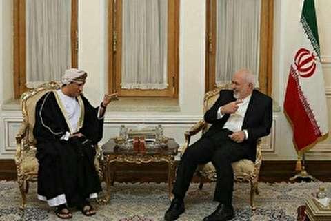 مساعد وزير الخارجية العماني يلتقي ظريف