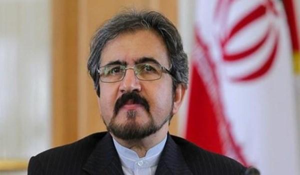 طهران تدين الجرائم الاخيرة للكيان الصهيوني في غزة