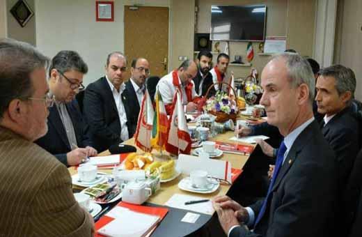 نائب رئيس الصليب الأحمر: التوعية بمخاطر الألغام في إيران ناجحة