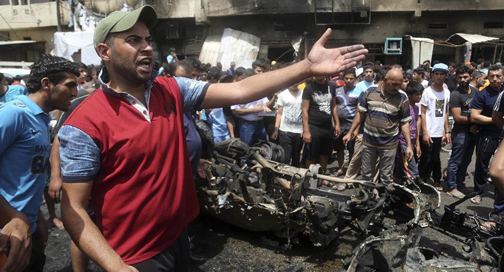 مقتل 8 وإصابة 16 آخرين في سلسلة انفجارات ضربت بغداد