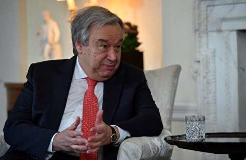 غوتيريش يدعو اللاعبين الاقليميين والدوليين لضمان استمرار الاتفاق النووي
