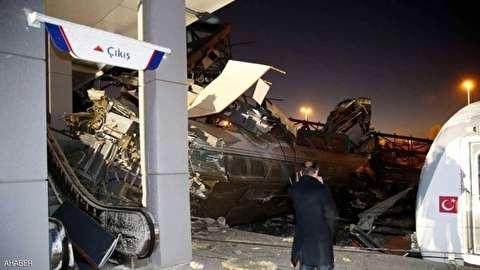 """بالفيديو و الصور... تحطم قطار سريع في أنقرة وعدد المصابين """"كبير"""""""
