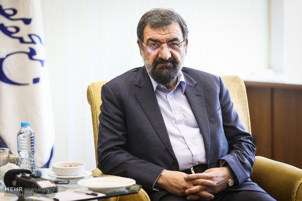 محسن رضائي: آية الله شاهرودي لم يتوان عن خدمة الجمهورية الاسلامية