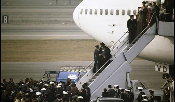 بدء مراسم احياء الذكرى الـ 39 لعودة الامام الخميني (رض) الى ايران