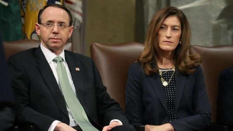 استقالة مسؤولة رفيعة في وزارة العدل الأمريكية