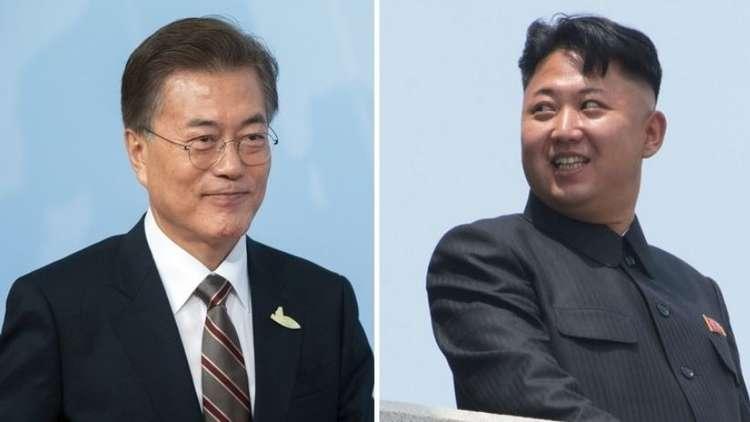زعيم كوريا الشمالية يدعو نظيره الجنوبى لزيارة بيونج يانج