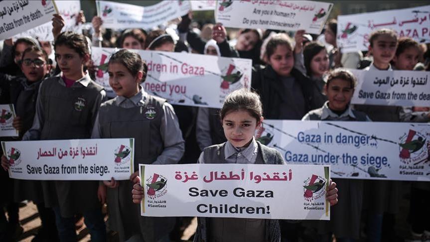 لجنة شعبية فلسطينية: نسبة الفقر في غزة وصلت 80 بالمائة
