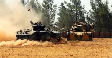 الجيش التركى وحلفاؤه يسيطرون على 4 قرى بمحيط عفرين السورية