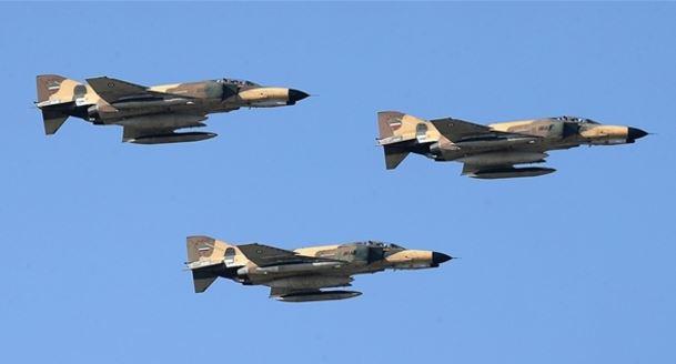 المقاتلات الايرانية مجهزة بصواريخ بعيدة المدى وقنابل ذكية وليزرية