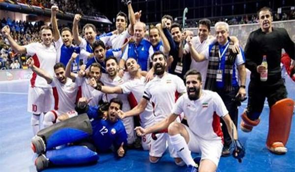 إيران تحرز المركز الثالث بكأس العالم لهوكي الصالات 2018