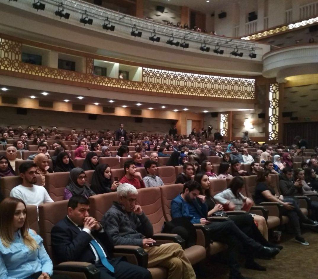 انطلاق ايام الفيلم الايراني في باكو بفيلم 'باديغارد'