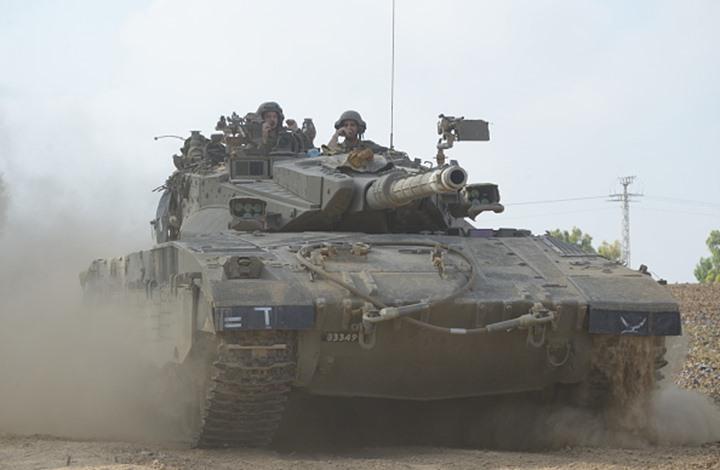 الجيش الإسرائيلي يبدأ مناورة على حدود غزة تحاكي الحرب