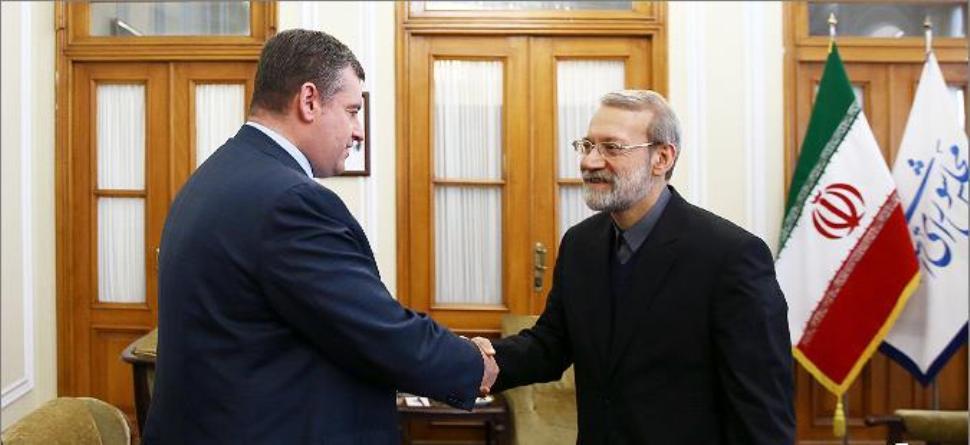 لاریجانی: التعاون المشترك بین ایران وروسیا اثمر عن نتائج ایجابیة فی المنطقة
