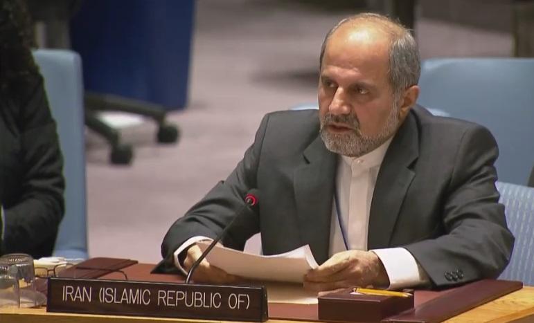 طهران: سلوك امیركا فی مجلس الامن یبعث علي الیأس من الدبلوماسیة متعددة الاطراف