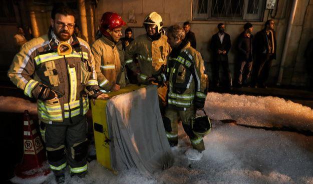 إخماد حريق ضخم في مبنى وزارة الطاقة الايرانية بعد 48 ساعة