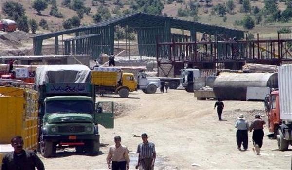 إستئناف النشاط التجاري بالاسواق الحدودية بين ايران وكردستان العراق