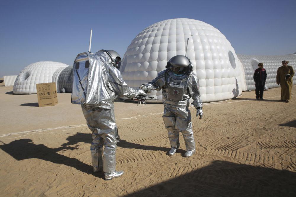 كوكب المريخ في صحراء عُمان