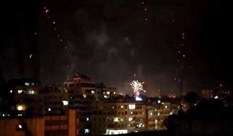 احتفالات في دمشق بعد استعادة الجيش السوري 90% من الغوطة الشرقية