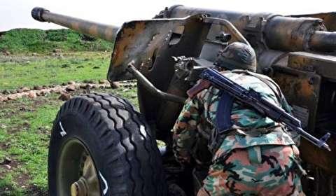 """ضبط مدفع من العيار الثقيل تابع لـ""""داعش"""" جنوب الموصل"""