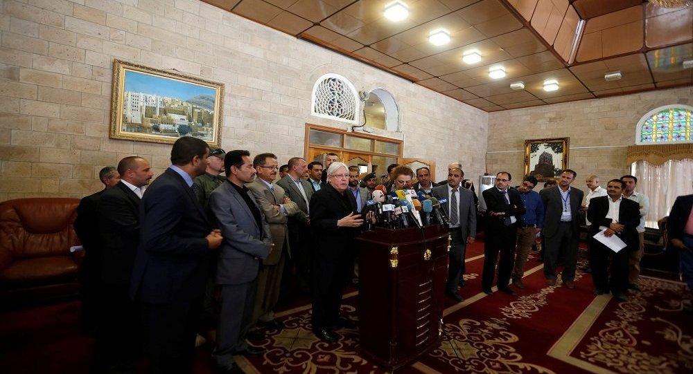 المبعوث الأممي إلى اليمن يلتقي عبدالملك الحوثي