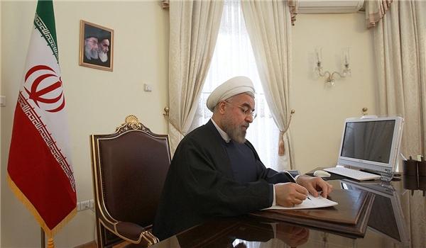 روحاني يعزّي بحادثة الحريق في جمهورية اذربيجان